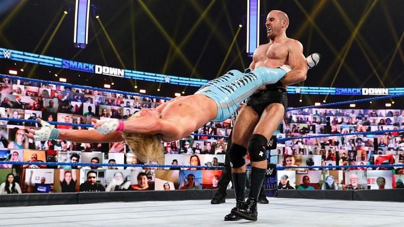 Cesaro has been unstoppable on SmackDown
