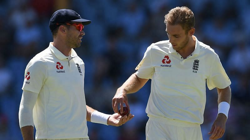 James Anderson (left) and Stuart Broad (right)