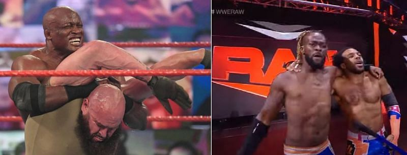 There were plenty of botches last night on Monday Night RAW