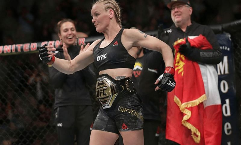 Valentina Shevchenko will be defending her title at UFC 261