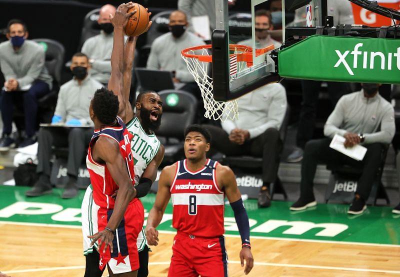The Boston Celtics will face off against the Washington Wizards on Sunday.