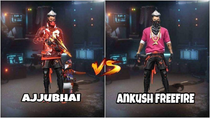 Ajjubhai vs Ankush FREEFIRE