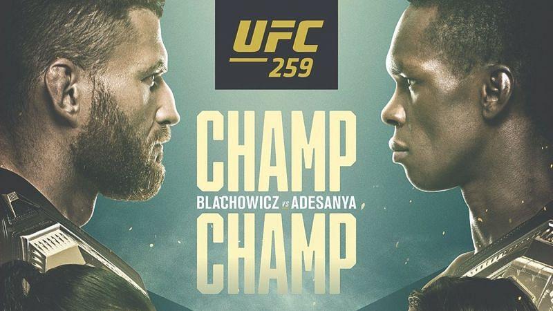 UFC 259 Poster