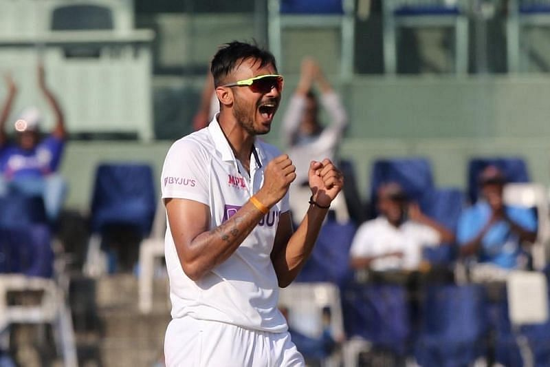 Axar Patel did not err in line or length throughout the Test match [P/C: BCCI]