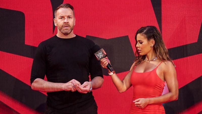 Christian on WWE RAW
