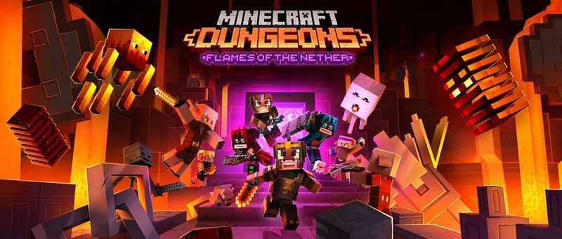 This update could be the biggest one yet for Minecraft Dungeons (Image via Mojang)