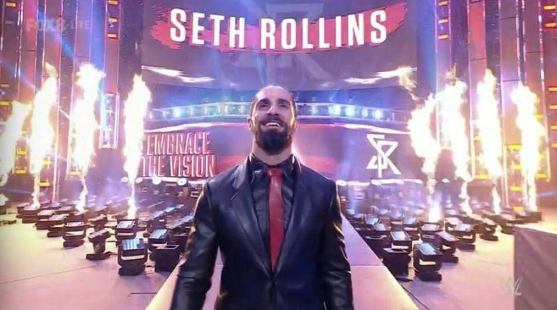 Seth Rollins is back on Friday Night SmackDown