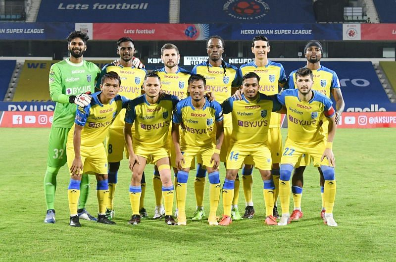 Kerala Blasters are ninth on the ISL table (Courtesy-ISL)