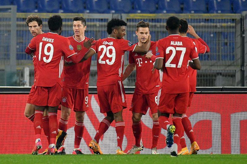 Bayern Munich controlled proceedings from start to finish