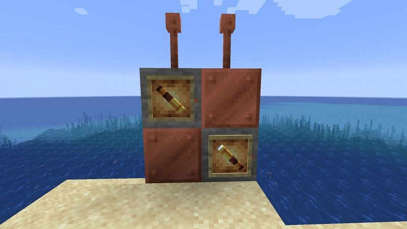 Copper ore will be added to Minecraft in Update 1.17 (Image via Minecraft)