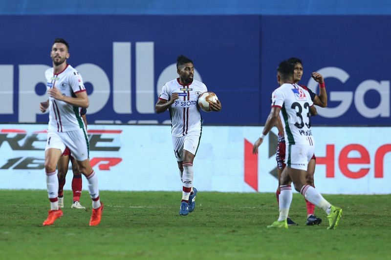 Roy Krishna is the leading goal-scorer of the league. (Image: ISL)