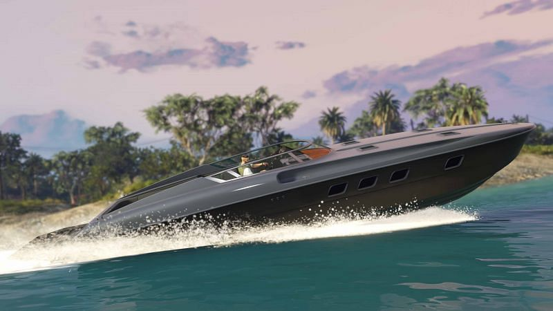 Most boats tend to be displayed as faster than they truly are in GTA Online (Image via GTA Forums)