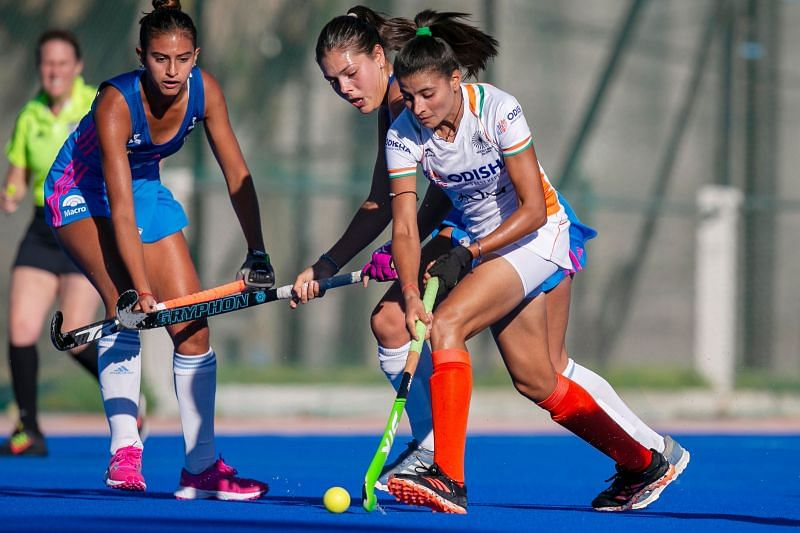 अर्जेंटीना दौरे पर भारतीय महिला हॉकी टीम