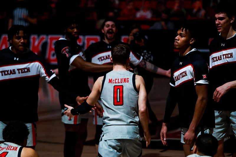 Mac McClung #0 of the Texas Tech Red Raiders