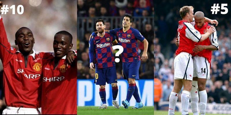 Football has seen great strike partnerships