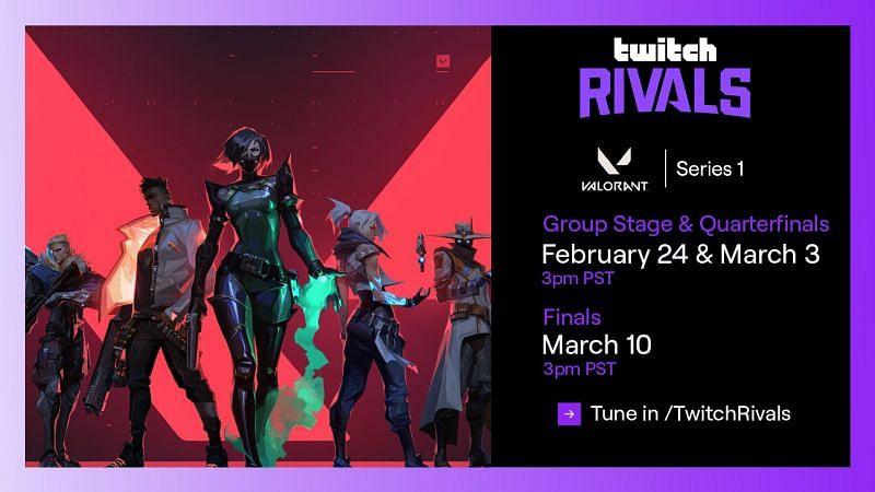 The Twitch Rivals Series 1 will see some popular streamers battle each other (Image via Twitch Rivals)