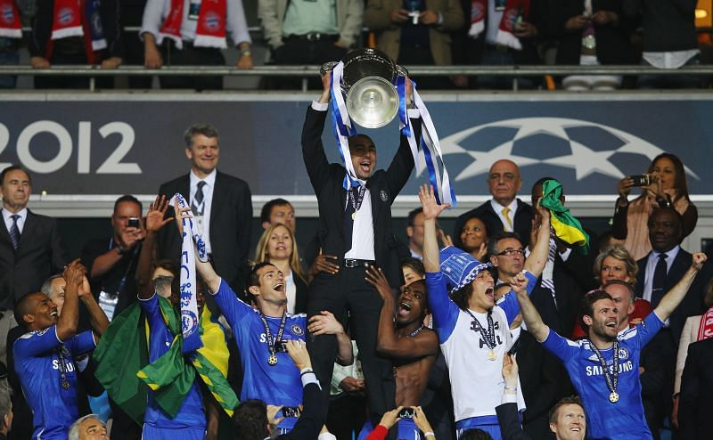 Roberto Di Matteo guided Chelsea to UEFA Champions League success in 2012.