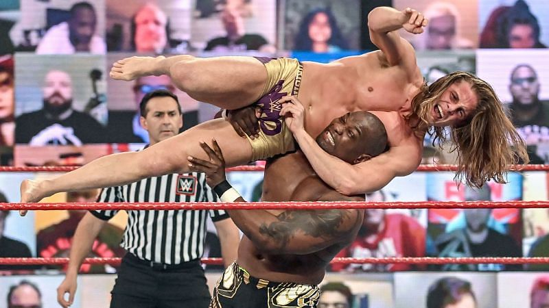 Riddle was a UFC star before WWE