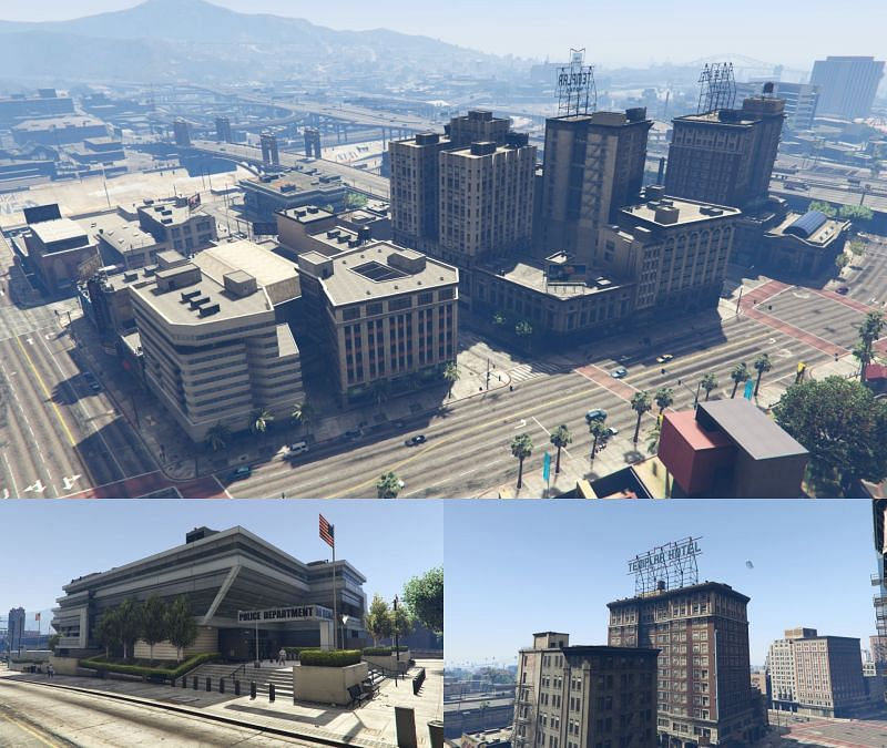 Mission Row is where gamers will find one of the three Gauntlet Cars required for the Big Score (Image via GTA Wiki Fandom)