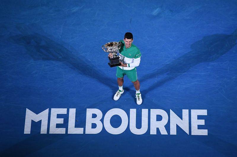 Novak Djokovic, the King of Melbourne