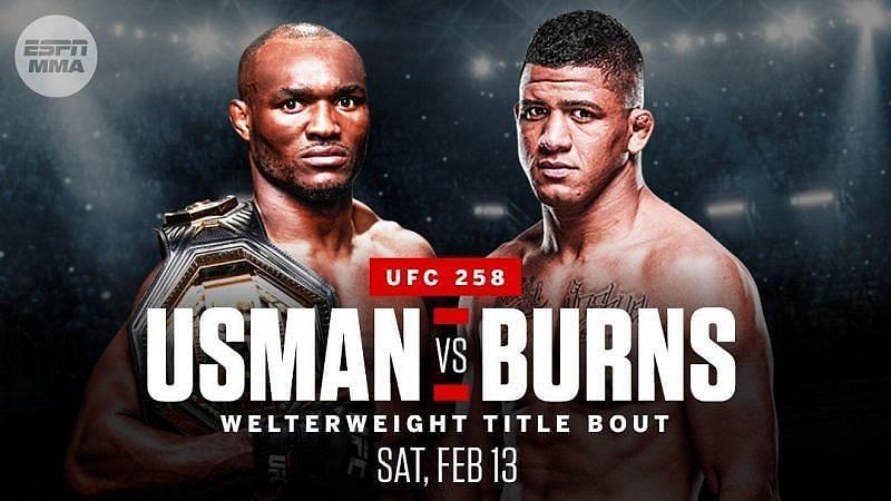 UFC 258: Kamaru Usman vs Gilbert Burns