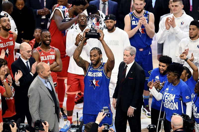 Kawhi Leonard was the MVP of the 69th NBA All-Star Game