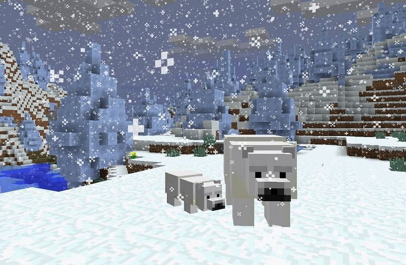 Minecraft Polar Bears