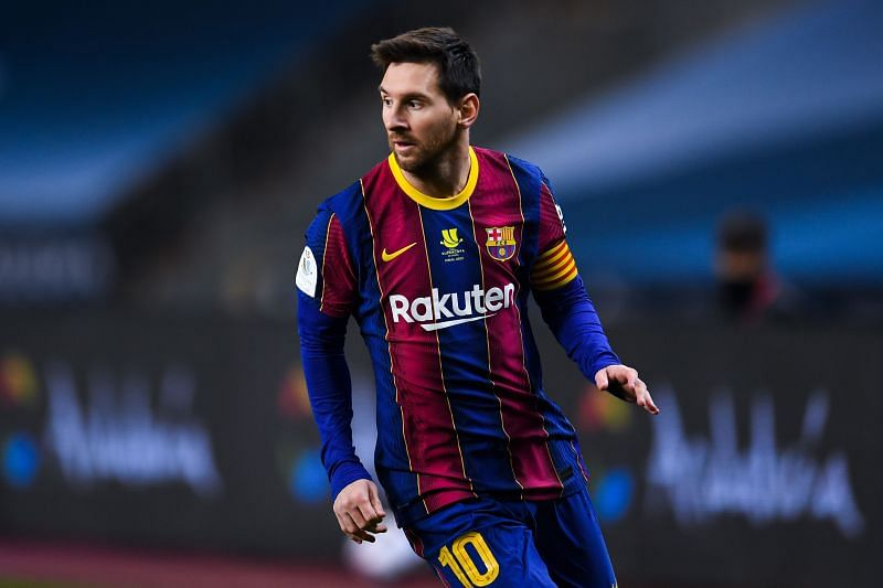Lionel Messi will be out of contract at Barcelona in June