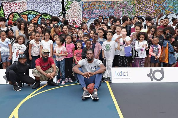 Kevin Durant charity work