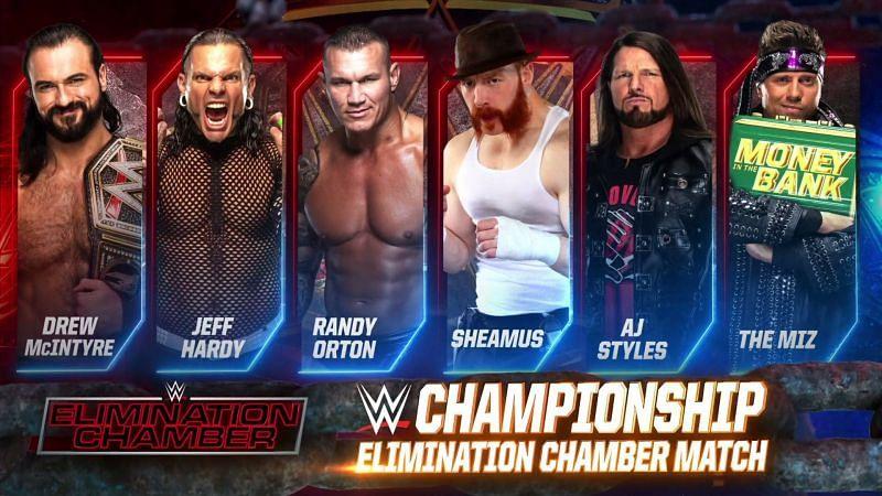 WWE चैंपियन ड्रू मैकइंटायर Elimination Chamber 2021 मैच में अपना टाइटल डिफेंड करने जा रहे हैं