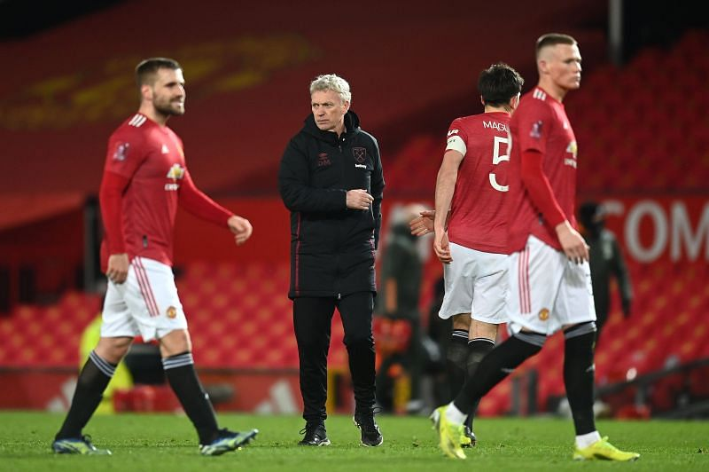 Manchester United beat West Ham United 1-0 in the FA Cup Fifth Round.