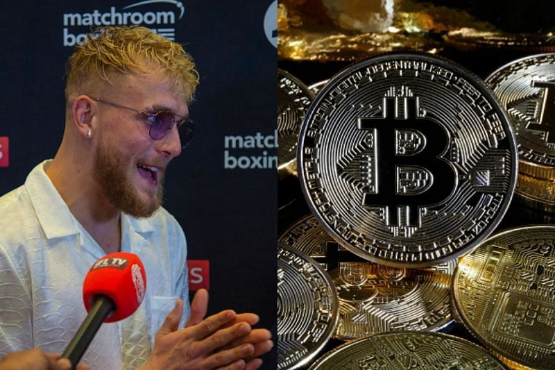 Jake Paul ivested in Bitcoin when he was 16-years-old