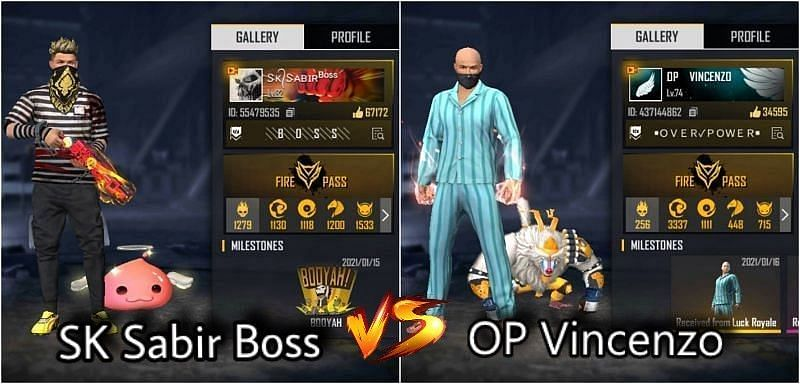 SK Sabir Boss vs OP Vincenzo