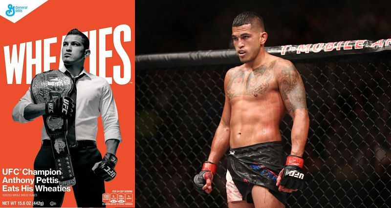 Anthony Pettis became the first mixed martial artist to feature on Wheaties box in 2014