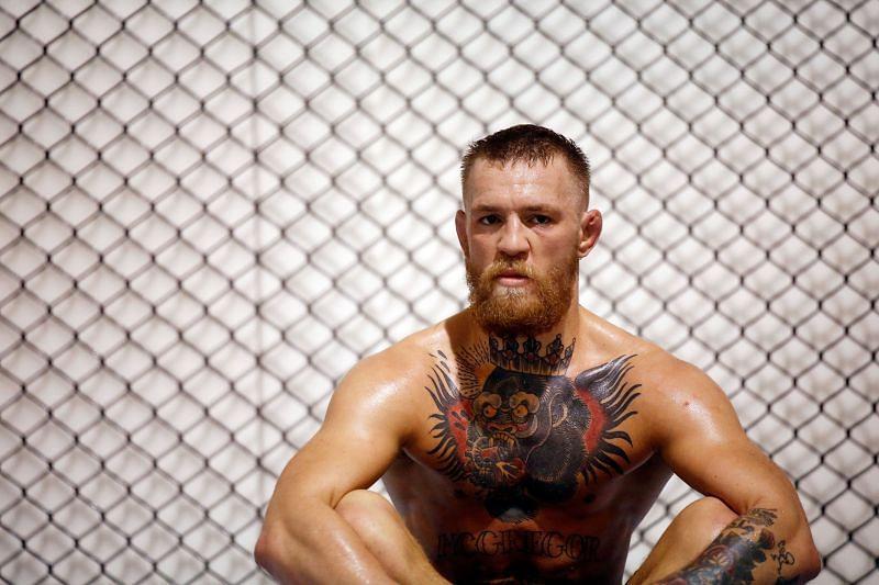 UFC double champion Conor McGregor