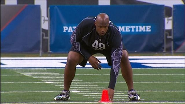 Former Houston OL Isaiah Thompson records the slowest 40-yard dash time