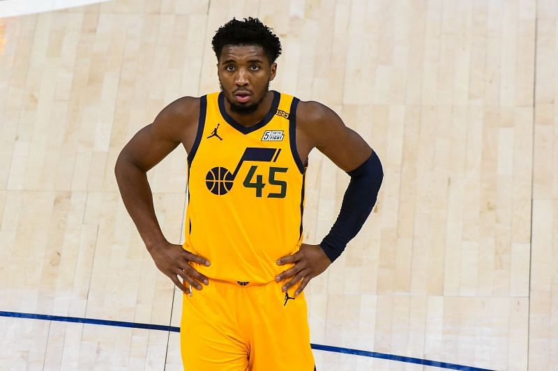 Donovan Mitchell is in terrific form for the Utah Jazz