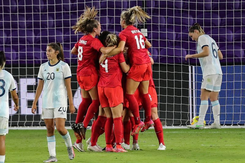 2021 SheBelieves Cup - Argentina v Canada