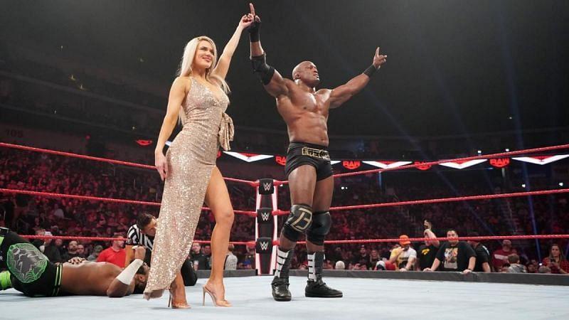 Lana and Bobby Lashley on WWE RAW