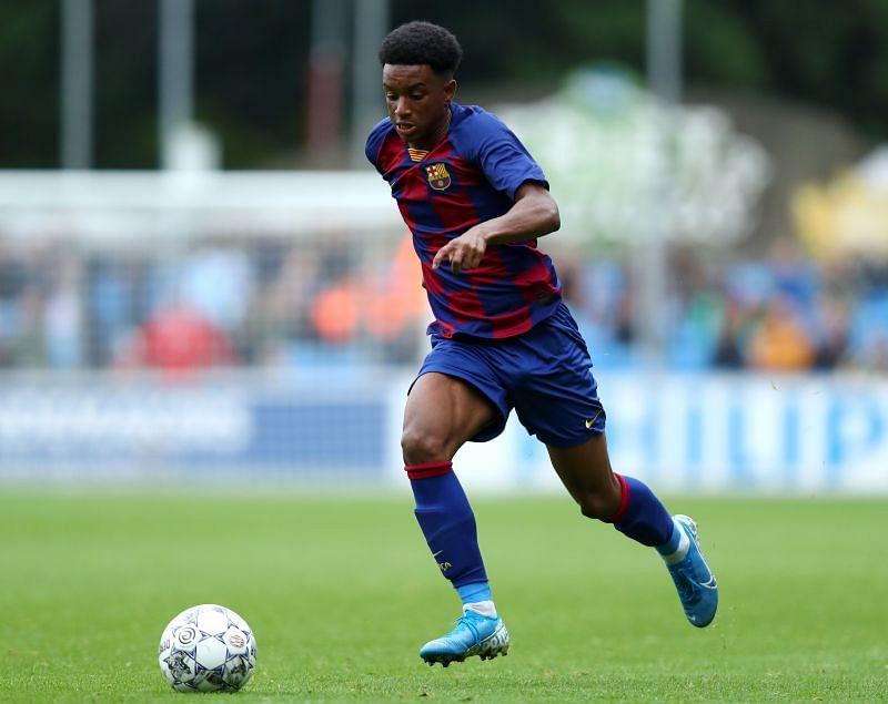Barcelona B left-back Alejandro Balde could be promoted to the first team soon