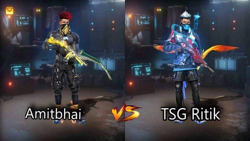 AmitBhai vs TSG Ritik