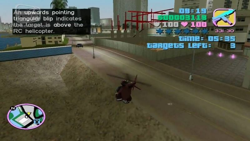 Missions in GTA games range from the elementary to the challenging to the absurd (Image via GTA Series Videos, YouTube)