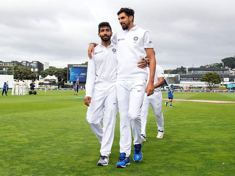 Ishant Sharma (R) has spearheaded the Indian bowling unit for the last few years