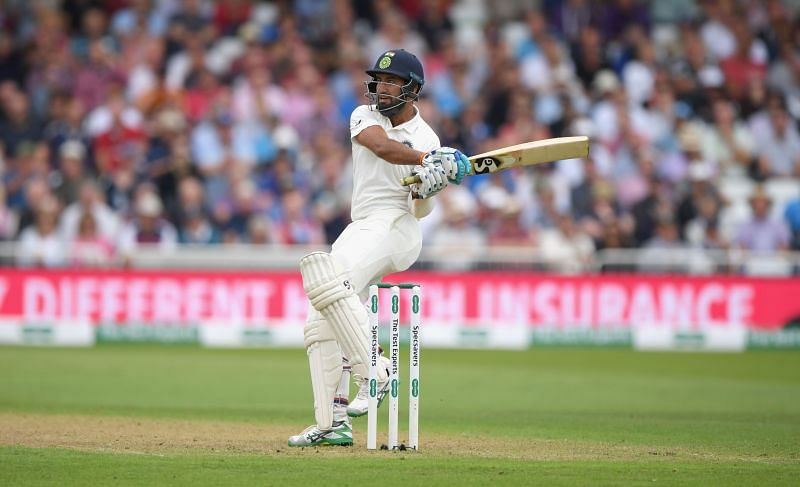 Cheteshwar Pujara is Test action for India