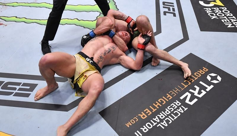 Julian Marquez got the submission win at UFC 258