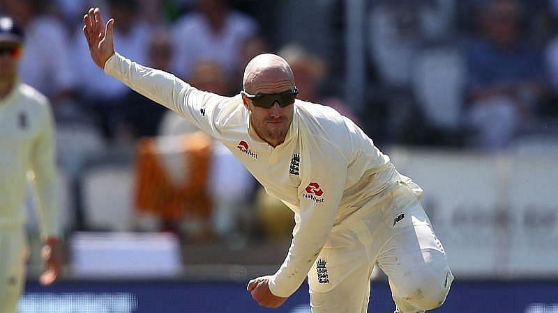 Jack Leach is the latest England spinner to dismiss Ajinkya Rahane