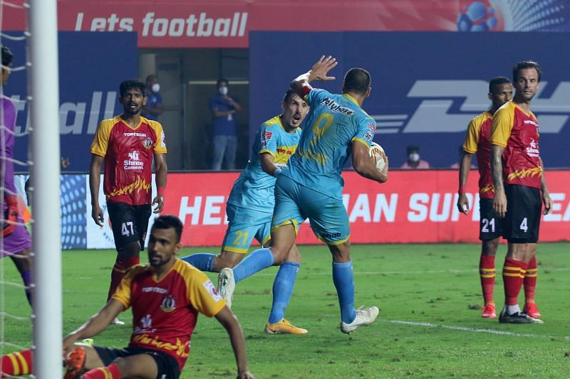 Hyderabad FC managed to earn a draw against a gritty SC East Bengal in their previous ISL fixture. (Image: ISL)