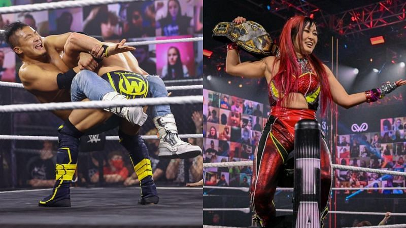 The stars of NXT shone last night at the pay-per-view