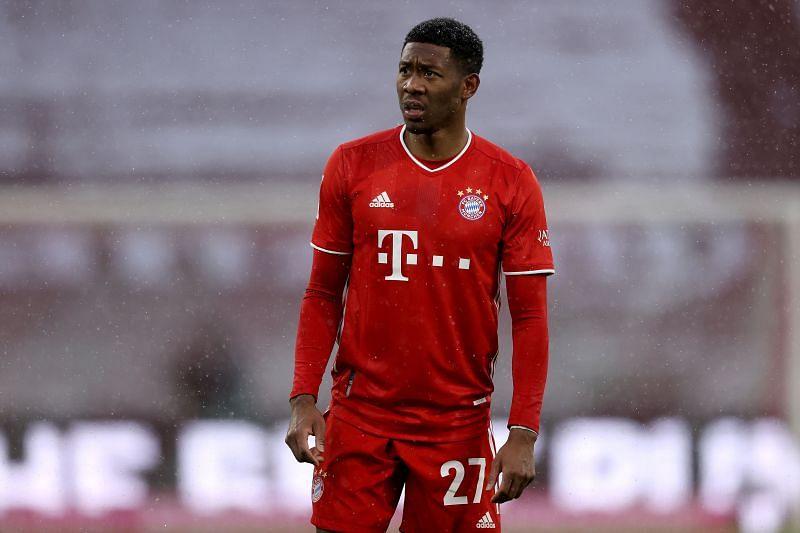 David Alaba will be leaving Bayern Munich at the end of the season.