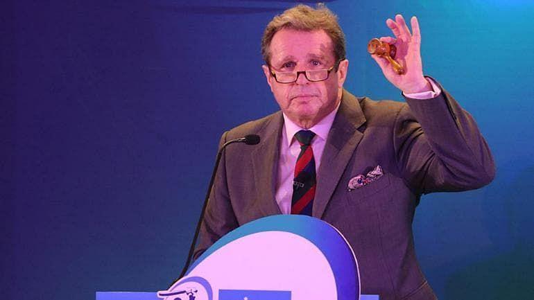 IPL Auctioneer -  Richard Madley